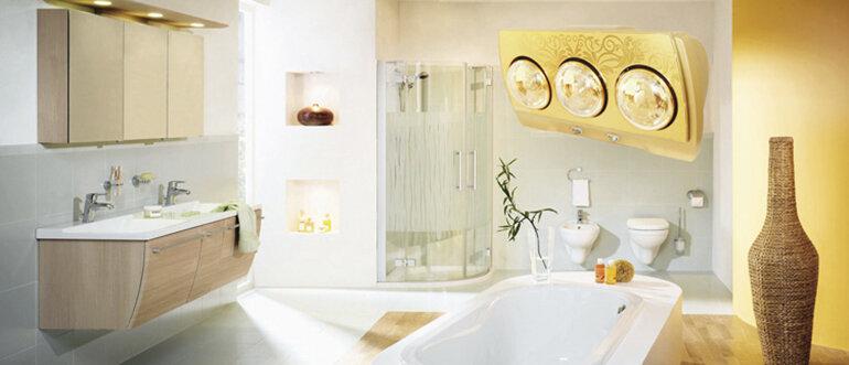 [Tư vấn] Chọn mua đèn sưởi nhà tắm tốt trên thị trường hiện nay