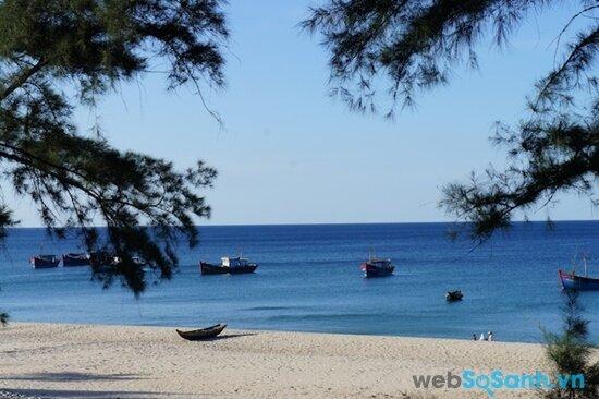 Bãi biển Nhật Lệ (nguồn: internet)