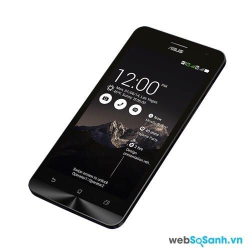màn hình của Zenfone 5 được bảo vệ tốt hơn nhờ lớp kính Corning Gorilla Glass 3.
