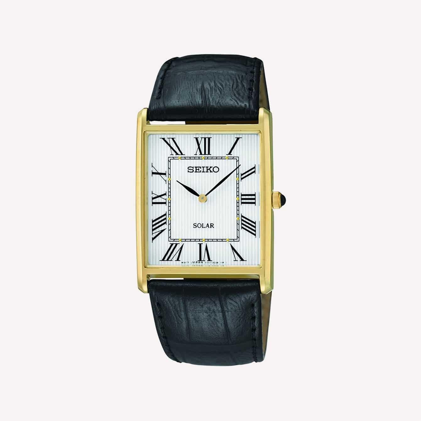 Đồng hồ Seiko Men s SUP880 Analog Display Nhật Bản màu đen thạch anh