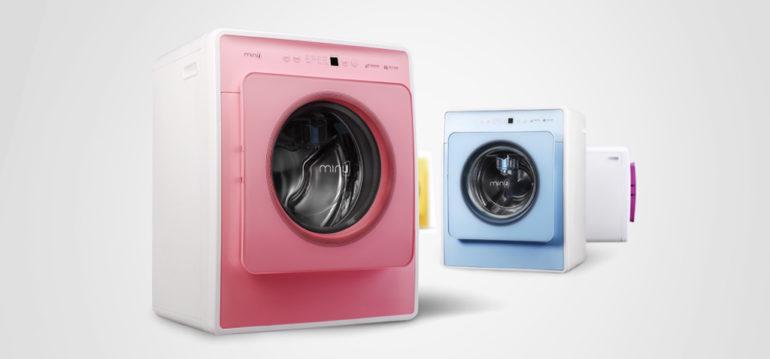 Máy giặt Mini J - Độc, là và đi trước thời đại