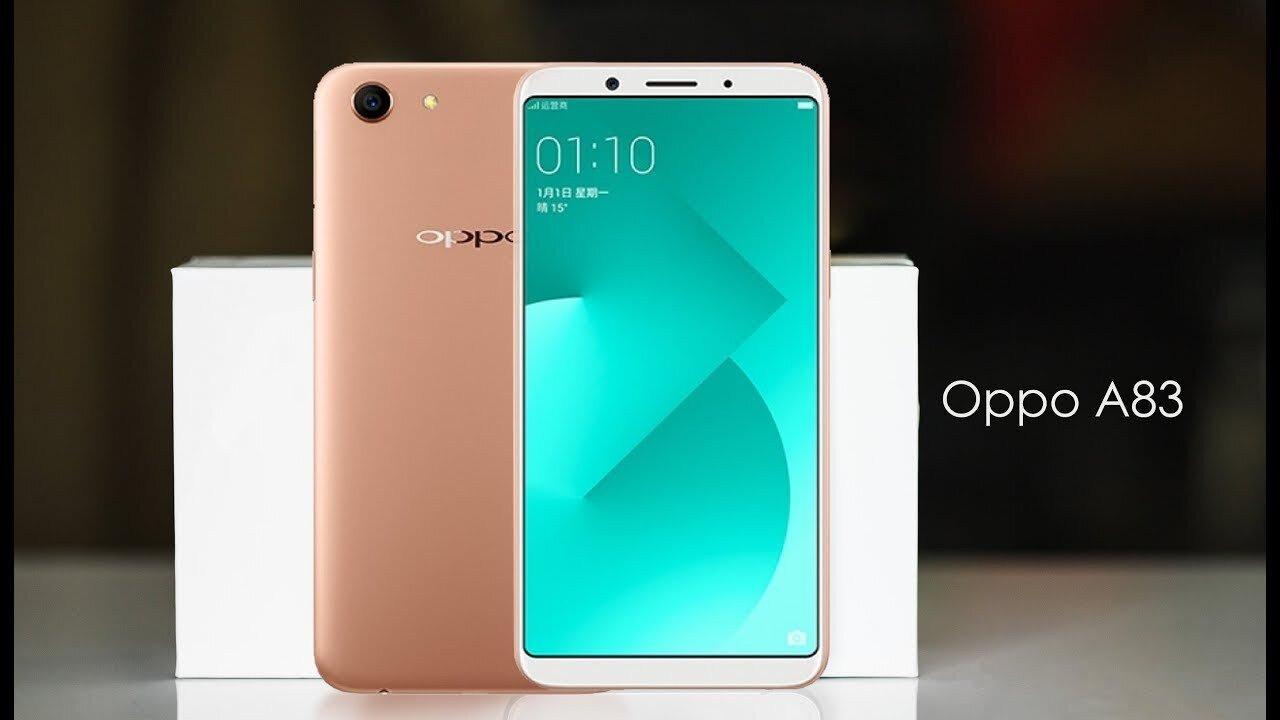 Oppo A83 là smartphone dòng A đầu tiên sở hữu màn hình tràn viền