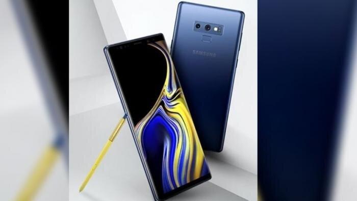 Màn hình Samsung Note 9 khá tương tự với Note 8