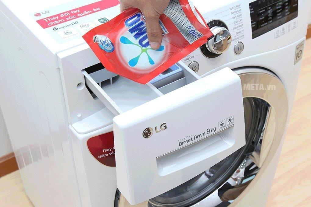 Thường xuyên vệ sinh máy giặt tại nhà đúng cách