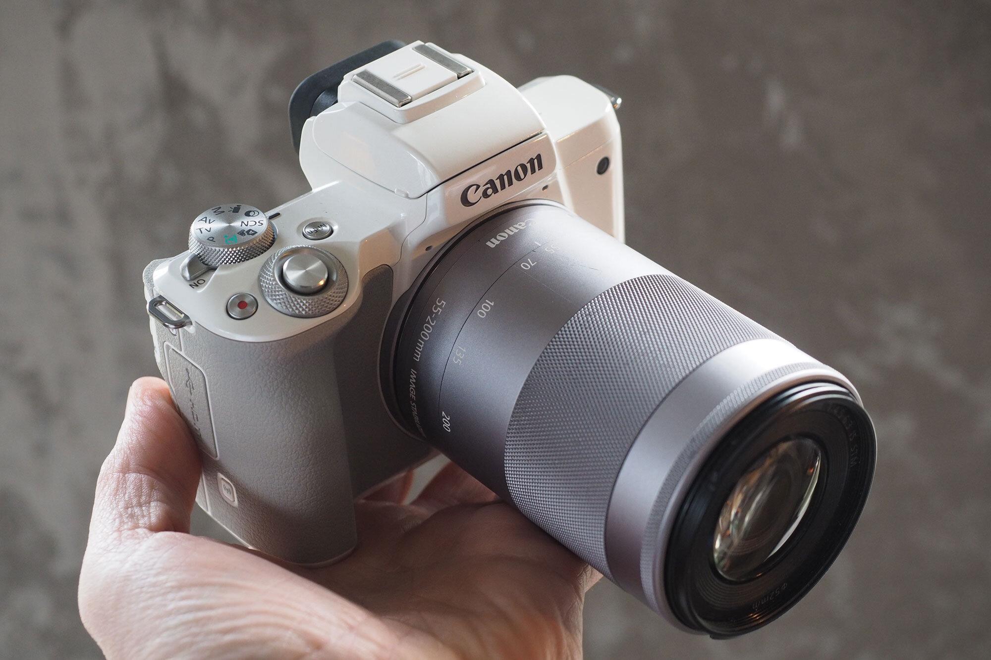 Canon EOS M50 là dòng máy ảnh không gương lật mới nhất của Canon hiện nay