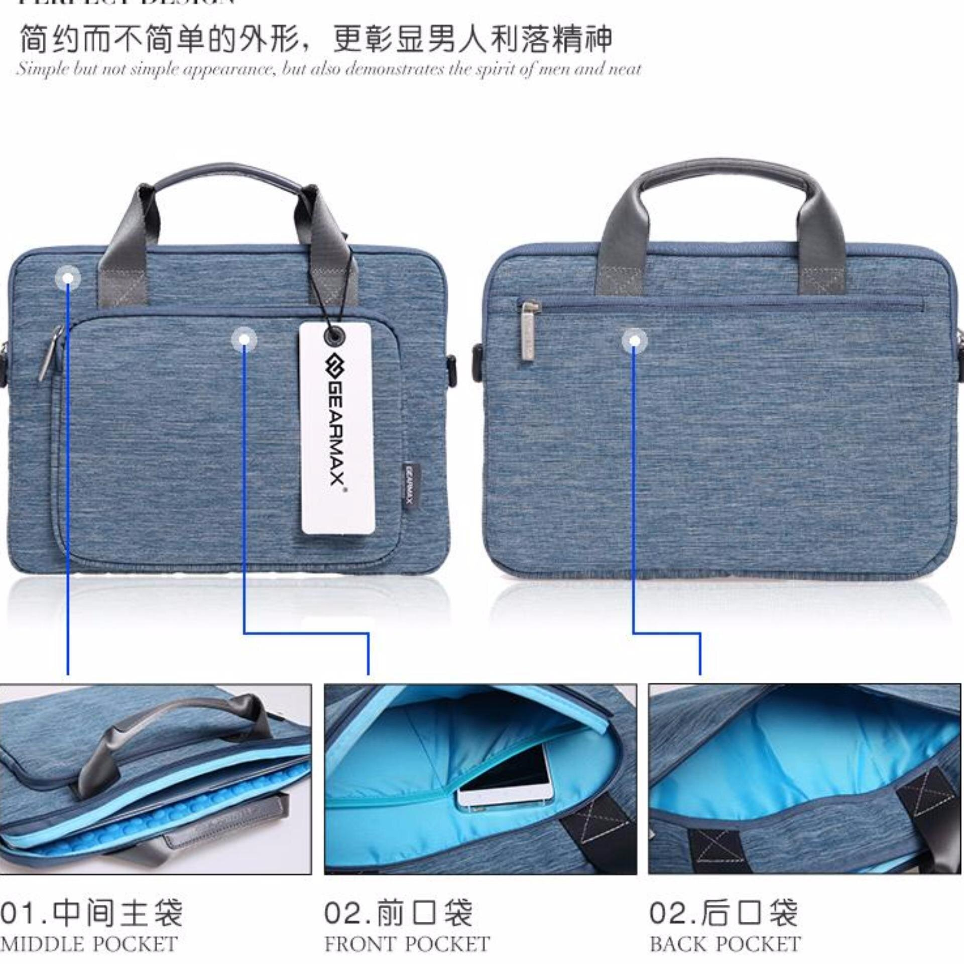 Túi đeo Gearmax cho Macbook M163 giá rẻ