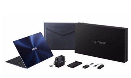 Toàn bộ hộp đựng và các phụ kiện sang trọng của ASUS Zenbook