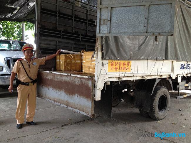Việc tự ý đóng thùng cho xe tải có thể bị phạt từ 4 - 8 triệu đồng