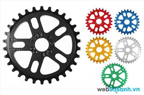 Xe đạp BMX thường có 1 cấp số duy nhất