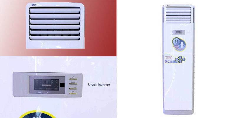 Điều hòa LG tủ đứng 1 chiều R410 48000BTU