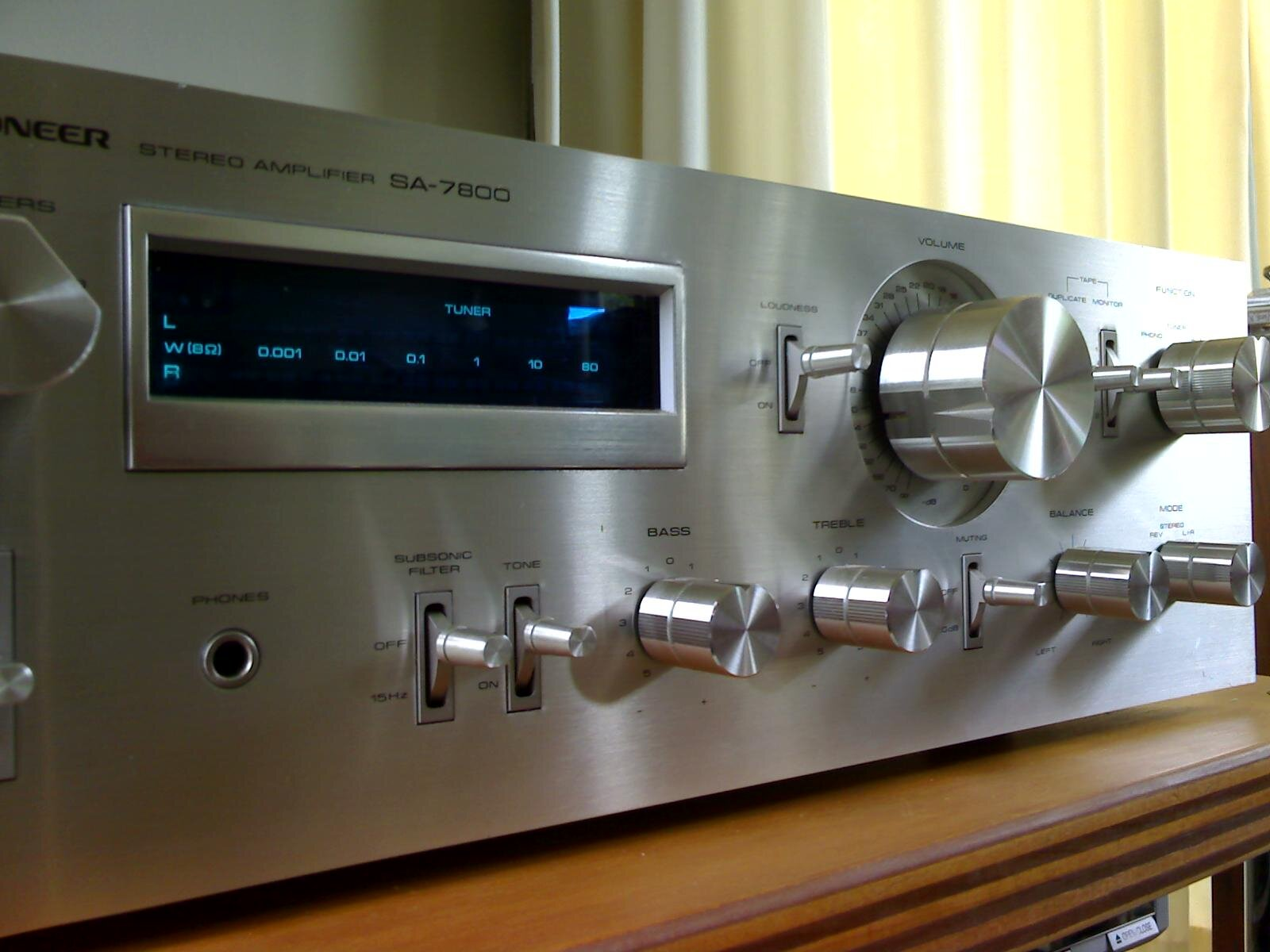 Amply Pioneer 7800ii