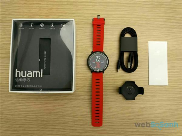 review đồng hồ thông minh Xiaomi Amazfit