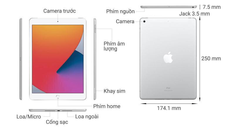 iPad 8 dùng sim có thể nghe gọi điện thoại được không?