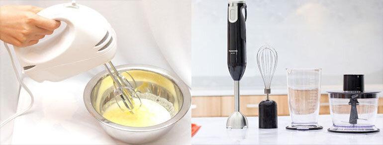 Có nên sử dụng máy xay sinh tố để đánh trứng không?