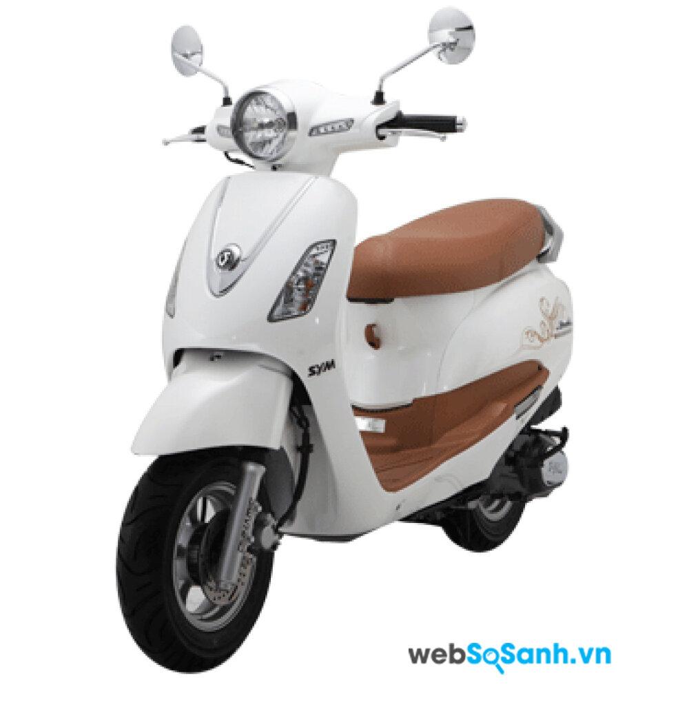 SYM Attila là chiếc xe máy dành riêng cho phái nữ