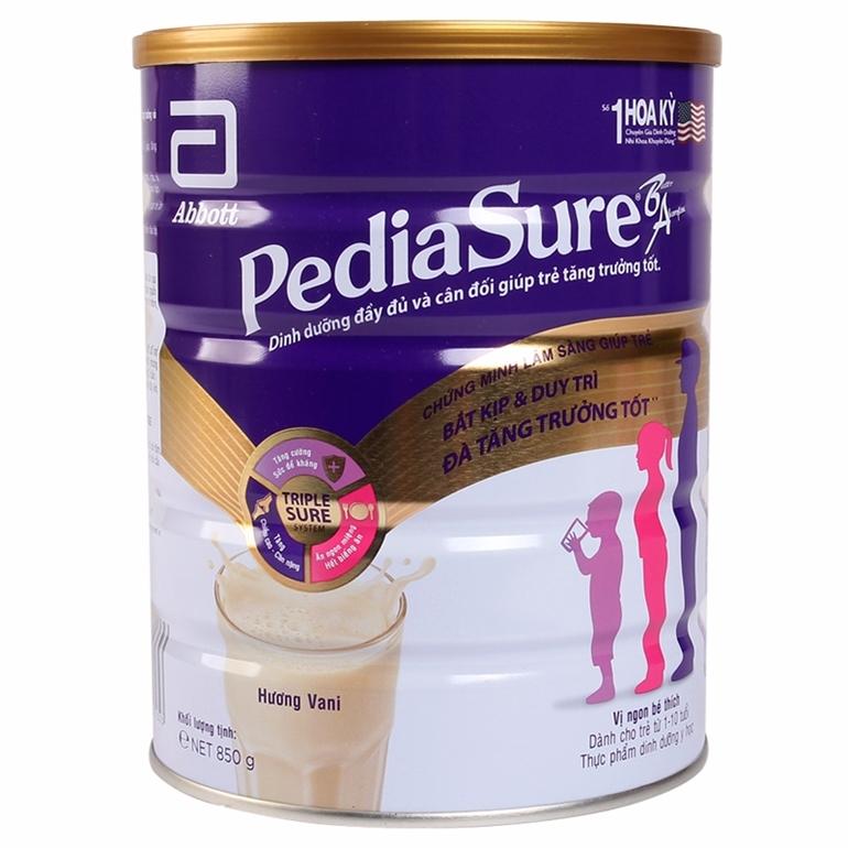 sữa pediasure mỹ và úc