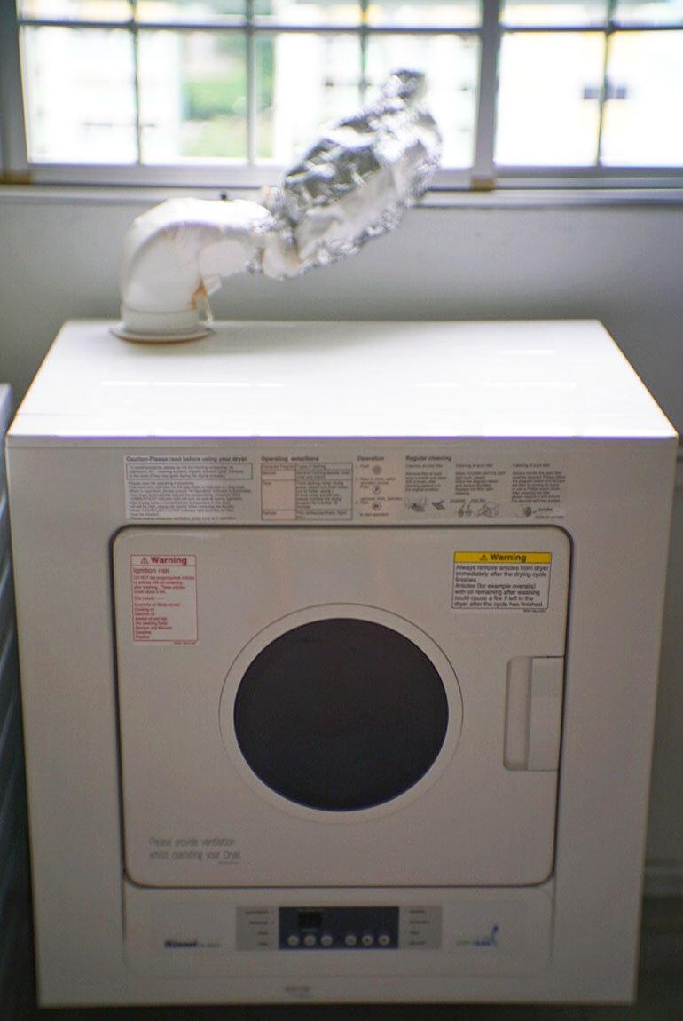 máy sấy quần áo bằng gas