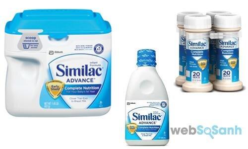 Sữa bột pha sẵn, sữa pha sẵn, sữa công thức