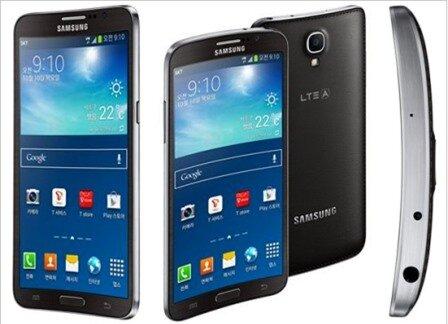 Điện thoại màn hình cong Galaxy Round đang được xem là thử nghiệm thú vị của Samsung