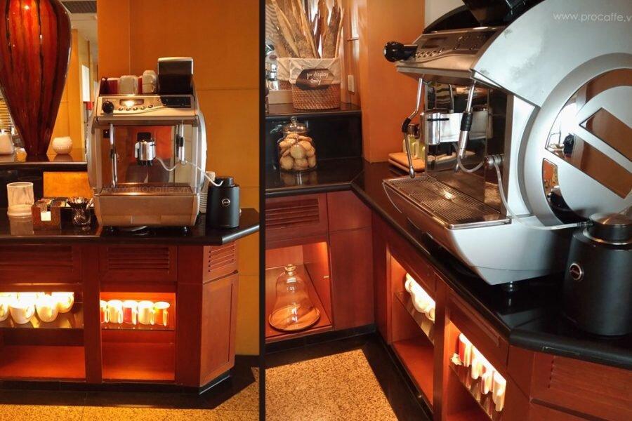 Máy pha cà phê siêu tự động