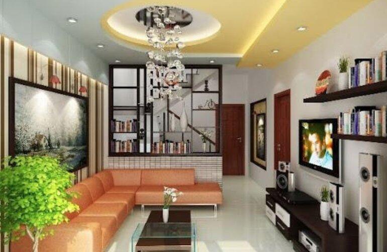 Thiết kế nội thất phòng khách theo phong cách cổ điển