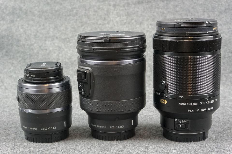 So sánh lens Nikon 1 70-300mm f/4.5-5.6 VR