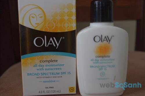 Olay Complete All Day Moisturizer with Sunscreen Broad Spectrum SPF 15 – Normal