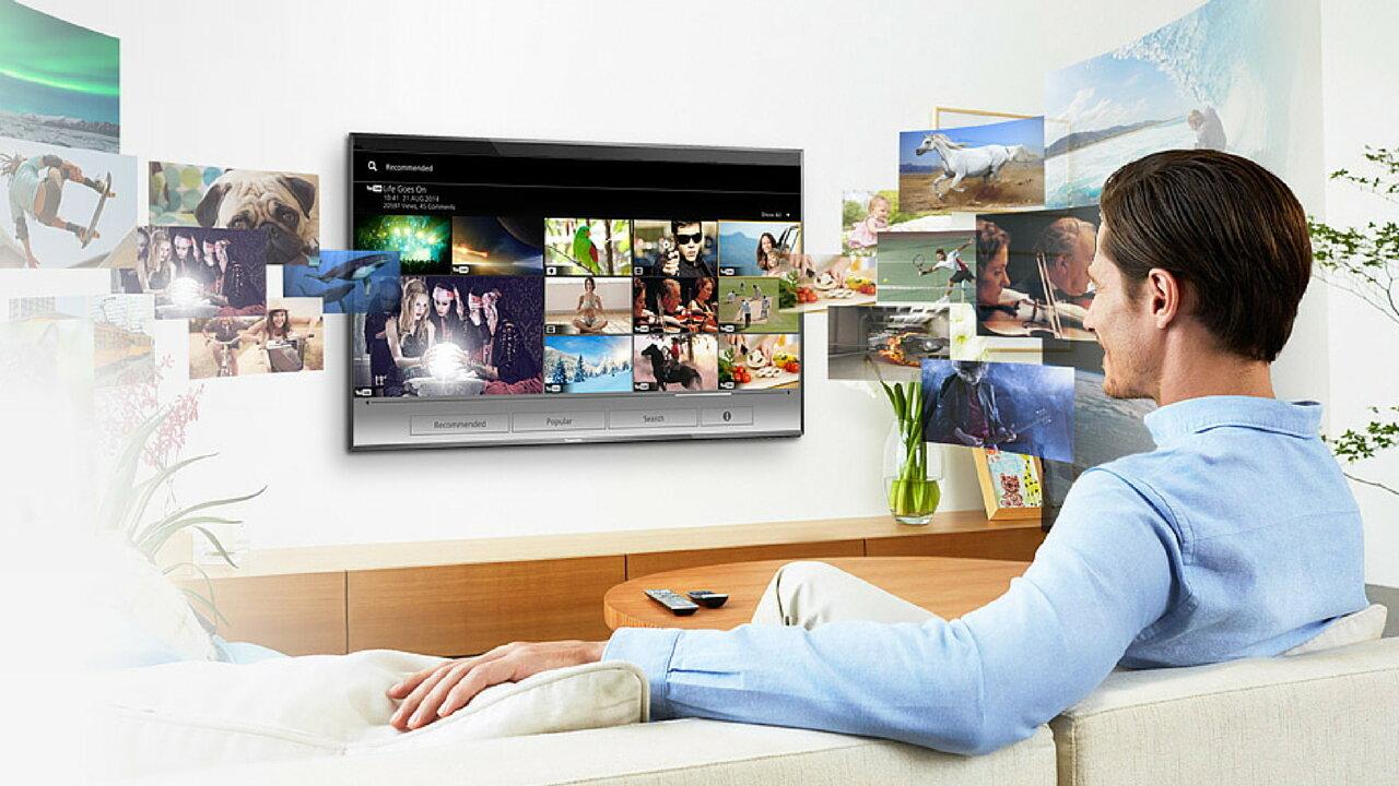 Kích thước màn hình smart tivi Philips 55 inch