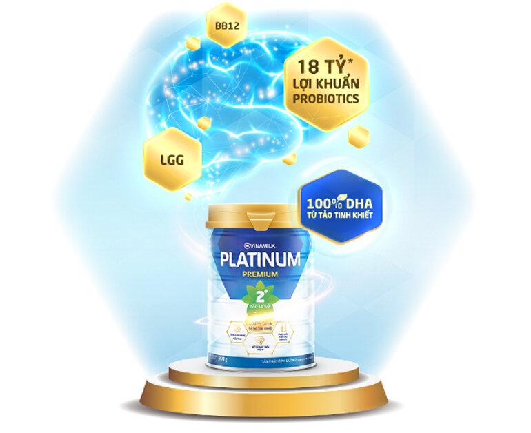 Sữa bột Vinamilk Platinum cho trẻ 2 - 10 tuổi có tốt không ?