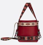 Diorodeo calfskin hobo bag