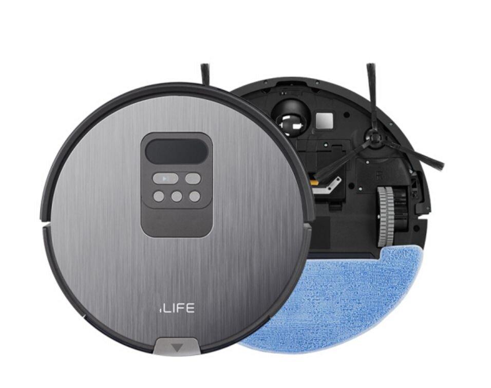 Robot hút bụi thông minh iLife X750 với thiết kế trang nhã, hiện đại
