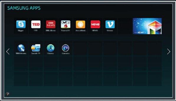 Tải các ứng dụng cho Samsung Smart TV