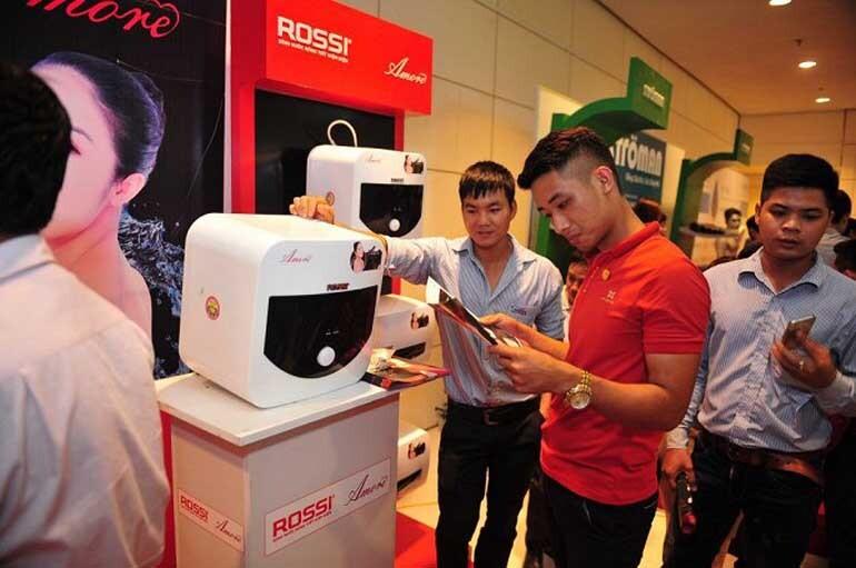 Bình nóng lạnh Rossi giá rẻ nhưng vẫn chất lượng