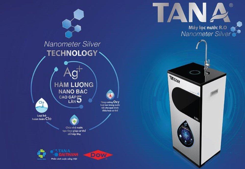 Máy lọc nước Tân Á Pro cân bằng độ PH giữ được vị ngọt tự nhiên của nước