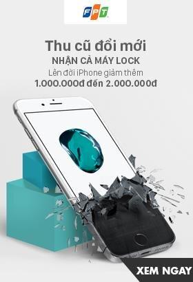 [ FPTshop.com.vn ] Thu cũ đổi mới. Lên đời iphone giảm thêm 1 triệu đến 2 triệu. Click XEM NGAY!