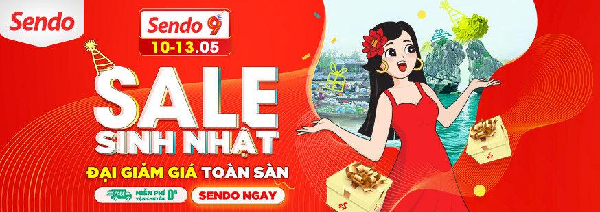 [ Sendo.vn ]  Sale sinh nhật, đại  giảm  giá  toàn  sàn