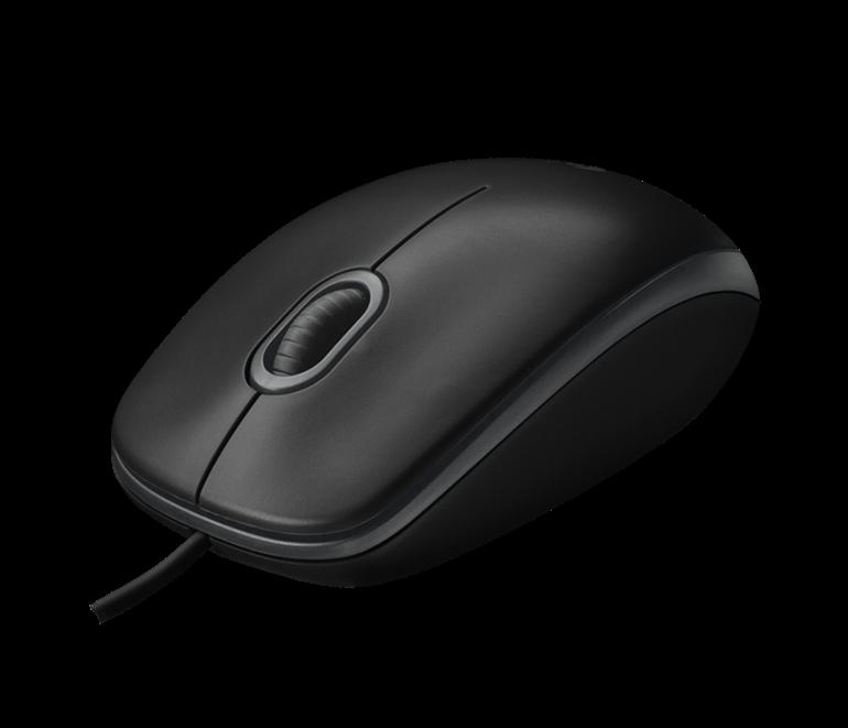 Chuột máy tính Logitech B100 - chuột có dây