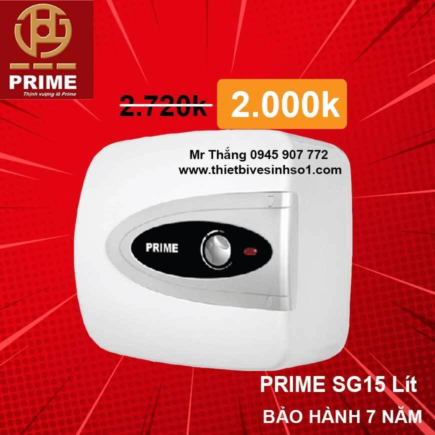 Bình nóng lạnh Prime SG15