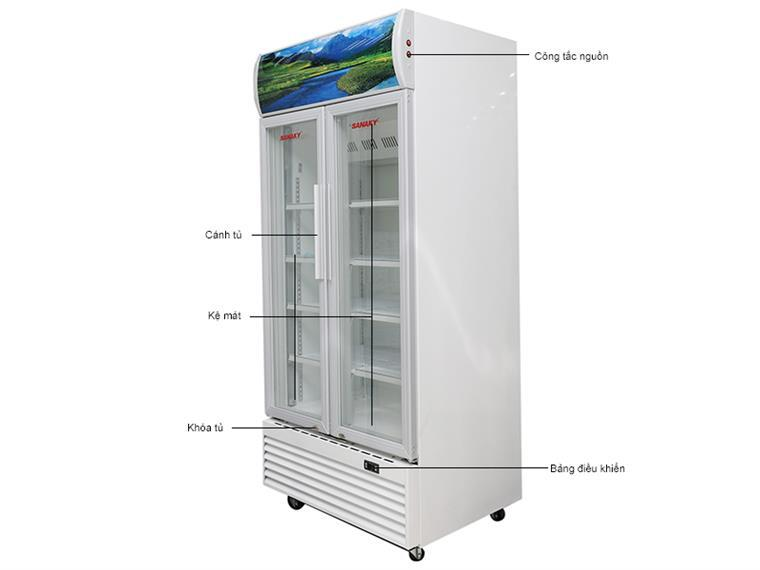 Tủ mát Sansaky VH-1009HP 1000 Lít