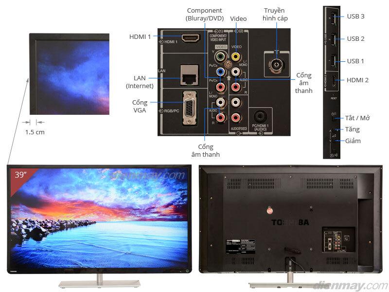 Smart Tivi LED Toshiba 39L4300 39 inch