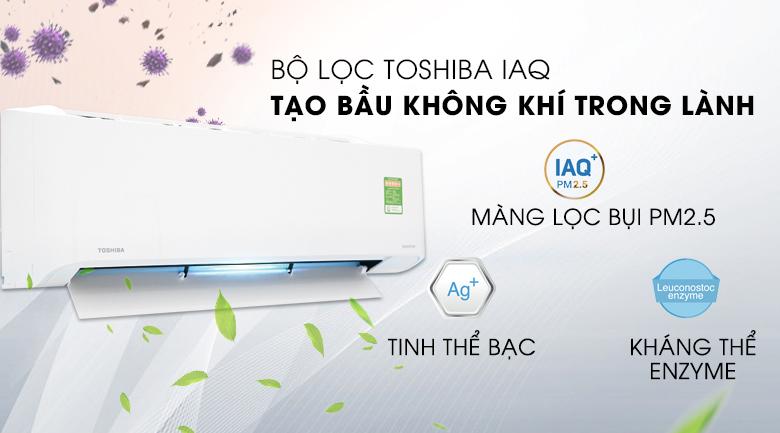 Điều hòa - Máy lạnh Toshiba RAS-H13C1KCVG-V - 1 chiều, inverter, 1.5 HP