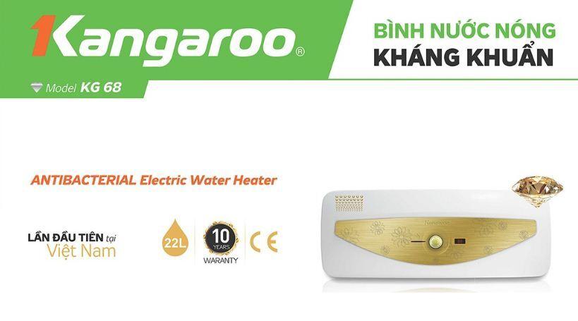 Bình nóng lạnh Kangaroo KG68