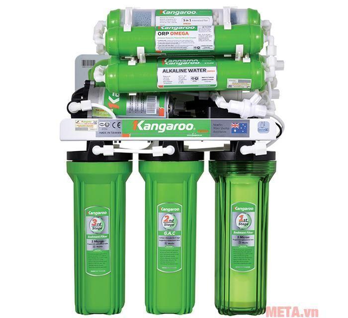 Máy lọc nước RO 9 lõi Kangaroo KG110A
