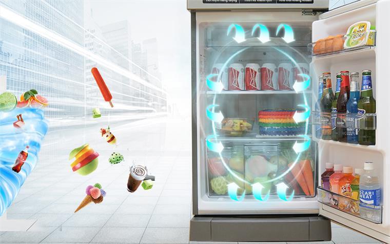 Tủ lạnh Inverter Panasonic NR-BA188VSV1 167 lít
