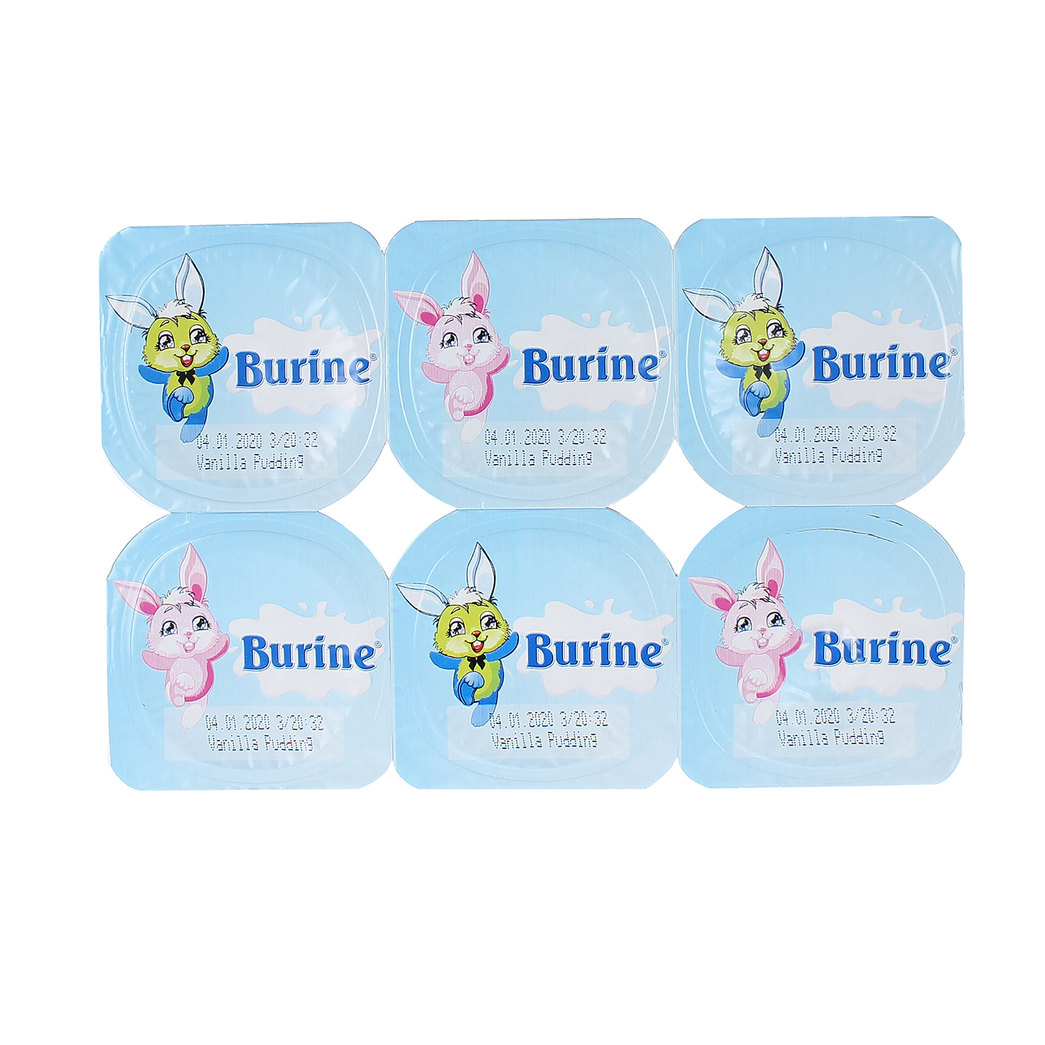 Pudding Burine Vani 6x50g