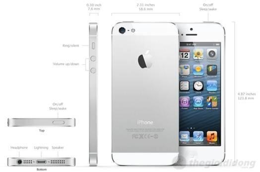 Điện thoại iPhone 5 16GB