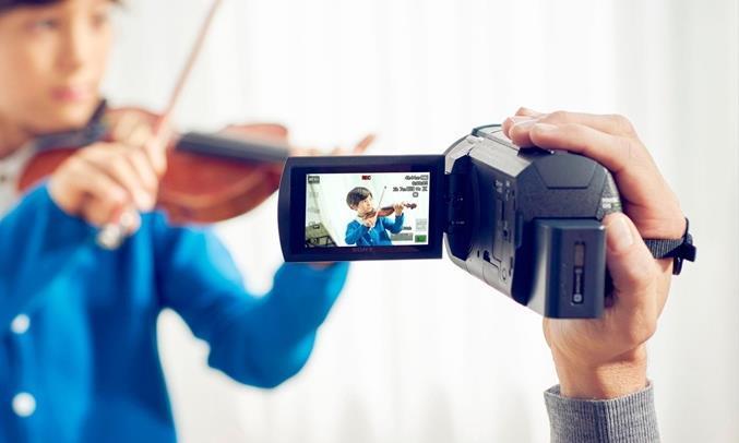 Máy quay phim Sony FDR-AX40/BC E35