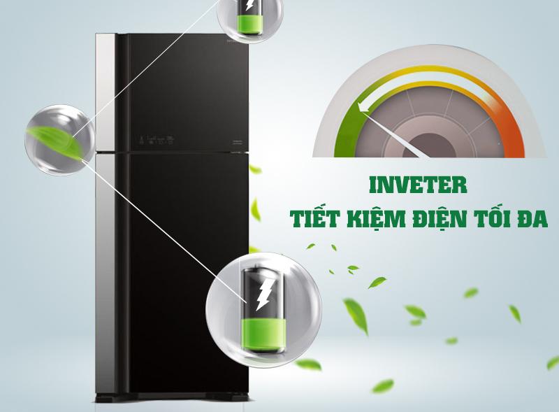 Tủ lạnh Hitachi 450 lít R-VG540PGV3