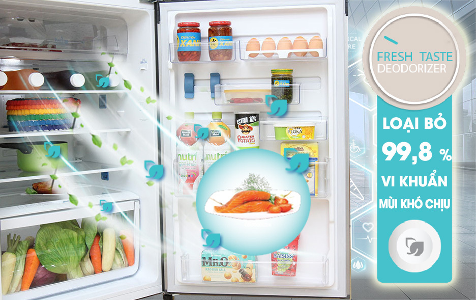 Tủ lạnh Electrolux 342 lít EME3500MG