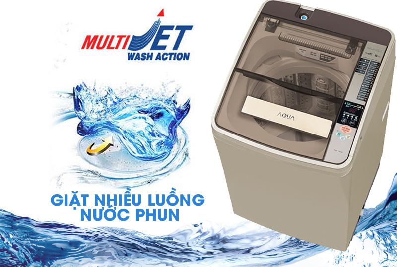 Máy giặt AQUA 8 kg AQW-U800AT N